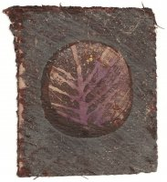 ARCHIVE. 18. PRINT: Round Stone and Branch no. 16