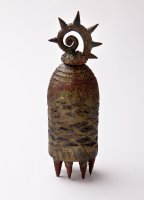 ARCHIVE. 13. Lidded Pot with Legs